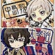 Bungo Stray Dogs - Square Can Badge 8Pack BOX