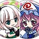Touhou Project - Chara Badge Collection 6Pack BOX(Released)