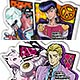Acrylic Badge - JoJo's Bizarre Adventure Part.IV Vol.2 10Pack BOX