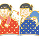 Osomatsu-san x Sanrio Characters - Trading Metal Pin Badge 6Pack BOX
