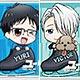 アクリルバッジ ユーリ!!!on ICE 10個入りBOX