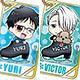 メタルキーホルダー ユーリ!!!on ICE 10個入りBOX