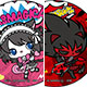 SHOW BY ROCK!! - Can Badge Ame-Comi Style ver. 11Pack BOX