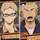 Haikyuu!! - Trading Acrylic Badge: Shiai Kaishi!! Karasuno High School B 6Pack BOX