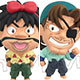 Color-Cole - Nintama Rantaro D-BOX no dan 6Pack BOX(Pre-order)