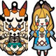 Monster Hunter XX - Both-sides 3D Solid Rubber Mascot Collection 10Pack BOX