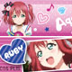 Love Live! Sunshine!! - Masking Tape: Ruby Kurosawa