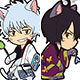 Rubber Mascot - Gintama Cat Series 9Pack BOX