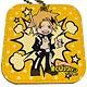 レザーミラーチャーム「僕のヒーローアカデミア」08/上鳴電気SDデザイン