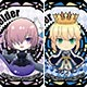 Fate/Grand Order - Charamu Trading Acrylic Badge 11Pack BOX(Released)