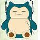 Pokemon Plush Pochette - Snorlax