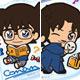 [Bonus] Detective Conan - ChokoKawa Acrylic Strap Vol.2 8Pack BOX