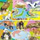 「できる」シリーズ くもんのジグソーパズル STEP5 発見! 世界の動物