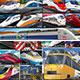 「できる」シリーズ くもんのジグソーパズル STEP7 くらべてみよう!世界の電車・列車