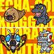Godzilla - Masking Tape 2: Orange