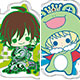 es Series nino Clear Brooch Collection - THE IDOLM@STER SideM 1st stage 8Pack BOX