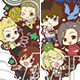 THE IDOLM@STER SideM Wake Atte Mini! - Trading Rubber Strap: Idol Time [2] Complete BOX