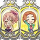 THE IDOLM@STER Cinderella Girls - Clear Stained Charm Collection ver.Passion Part.2 10Pack BOX(Pre-order)