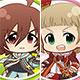 アイドルマスター SideM ぷにキャラ アクリルバッジ Ver.2 16個入りBOX