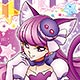 KiraKira Precure A La Mode - Life-size Wall Scroll: Cure Macaron