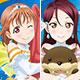Love Live! Sunshine!! - Acrylic Badge Koi ni Naritai AQUARIUM Plush ver. 9Pack BOX(Pre-order)