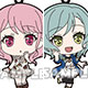 BanG Dream! Girls Band Party! - Trading Rubber Strap Pastel*Palettes 5Pack BOX