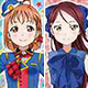 Love Live! Sunshine!! - Long Sticker Gum Vol.4 16Pack BOX (CANDY TOY)