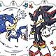 アクリルキーホルダー「ソニック」(グラフアートデザイン)01/ 6個入りBOX