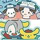 ユーリ!!! on ICE ラバーストラップコレクション サンリオコラボ2 8個入りBOX