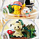 Pokemon Sun & Moon - Terrarium Collection EX -Alola Region- 6Pack BOX (CANDY TOY)