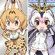 Kemono Friends - Wafer Part.2 20Pack BOX (CANDY TOY, Tentative Name)
