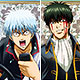 Gintama Season 4 - Chara Pos Collection 17 8Pack BOX
