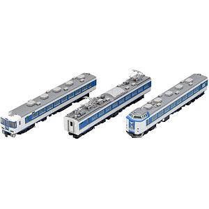98652 JR 485系特急電車(しらさぎ・新塗装)セットC(3両)