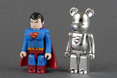 スーパーマン キューブリック & マン・オブ・スティール ベアブリック セット