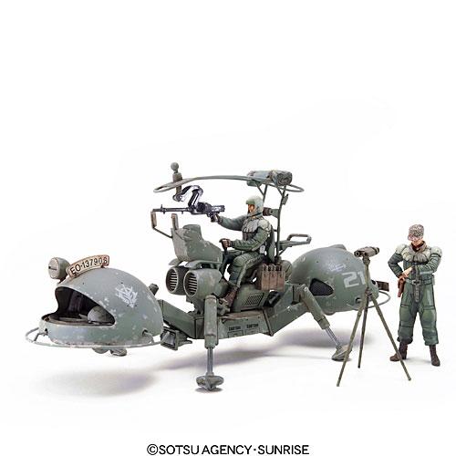 U.C.ハードグラフ 1/35 第1弾 ジオン公国軍 機動偵察セット プラモデル(再販)[バンダイ]《発売済・在庫品》