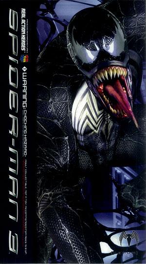 リアルアクションヒーローズ ヴェノム SPIDER-MAN3 Ver.(再販)[メディコム・トイ]《在庫切れ》