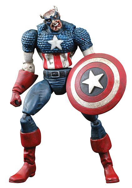 マーベル・ゾンビーズ キャプテン・アメリカ アクションフィギュア カートン[ダイアモンドセレクト]《在庫切れ》