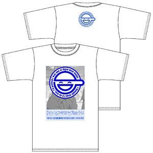 攻殻機動隊S.A.C. 笑い男 Tシャツ/ホワイト-L(再販)[コスパ]《06月予約》