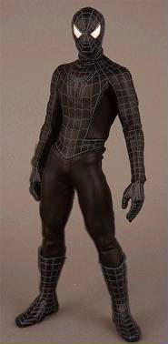リアルアクションヒーローズ スパイダーマン SPIDER-MAN3Ver. ブラック版