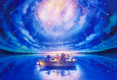 ジグソー ディズニー マジック ナイト〈光る〉 1000ピース(D-1000-328)[テンヨー]《在庫切れ》