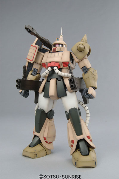 MG 1/100 MS-06K ザクキャノン プラモデル