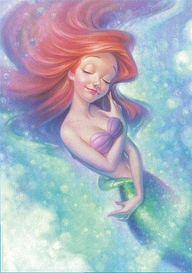 ジグソー Ariel Embracing Light / アリエル・エンブレイシング・ライト 300ピース[テンヨー]《在庫切れ》