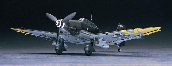 """1/48 ユンカース Ju87G-2 スツーカ""""タンクバスター"""" プラモデル(再販)[ハセガワ]《発売済・在庫品》"""