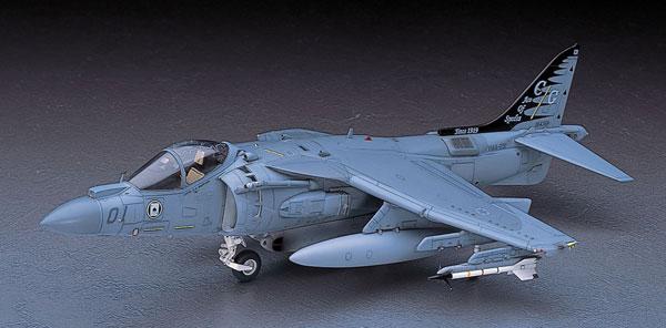 1/48 AV-8B ハリアーII プラス プラモデル(再販)[ハセガワ]《取り寄せ※暫定》