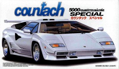 1/24 リアルスポーツカーシリーズ No.53 カウンタックスペシャル プラモデル(再販)[フジミ模型]《取り寄せ※暫定》
