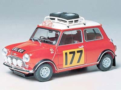 1/24 スポーツカーシリーズ No.48 モーリス ミニクーパー 1275S ラリー プラモデル(再販)[タミヤ]《取り寄せ※暫定》