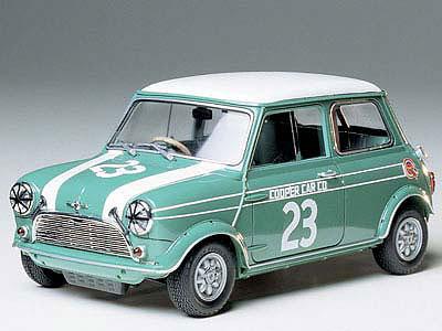 1/24 スポーツカーシリーズ No.130 モーリス ミニクーパー レーシング プラモデル(再販)[タミヤ]《在庫切れ》