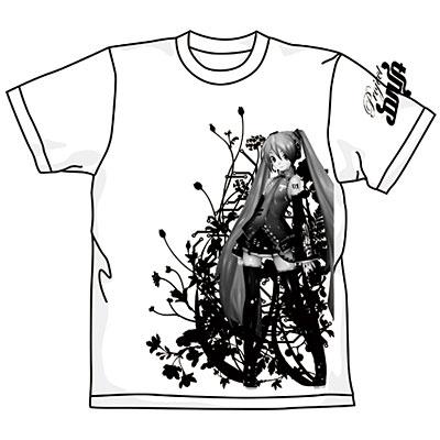 初音ミク -Project DIVA- ミクTシャツ/ホワイト-M (10年6月分)[コスパ]《在庫切れ》