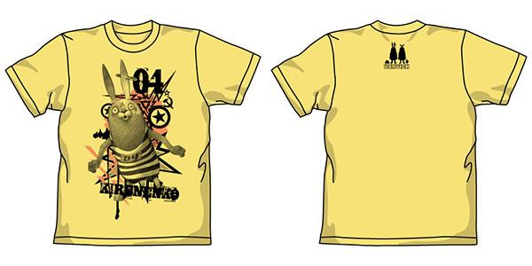 ウサビッチ キレネンコ グラフィック Tシャツ/バナナ-S[コスパ]《在庫切れ》