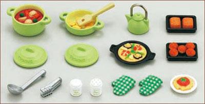 シルバニアファミリー 家具 料理セット